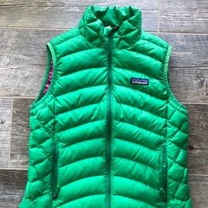 Patagonia Kelly Green Vest Size Small